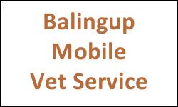 Balingup Mobile Vet Service
